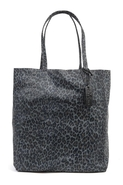 Ezra Tote in Leopard Scales