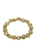 Engraved Rocky Tennis Bracelet - Gold