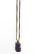 Natalie B          . Amber Amethyst Pendant Necklace - Amethyst
