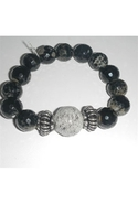 Snakeskin Bracelet - Gray
