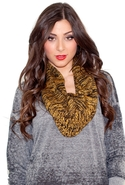 FINAL SALE-Kerisma Frankie Circle Scarf - Yellow/B