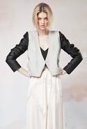 Love Minus Zero Jacket - Grey Marle/Black - Medium