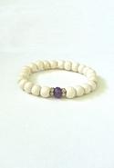 Bijouterie Light Wood Jade Bracelet - Purple