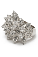 Pave Wicked Ring - Silver - 7