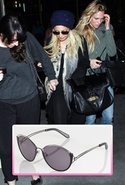 Stephanie Sunglasses in Black