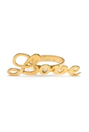 Love Knuckle Ring - Gold - 6