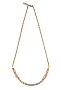 Little Ways Anti-Bronze Diamond Necklace - Anti-Br