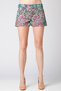 SALE7 For All Mankind Biancha Short in Garden Part