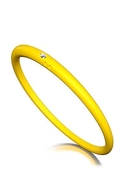 DUEPUNTI Diamond Bangle in Lemon - Lemon