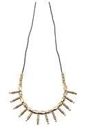 A Poet's Distraction Necklace in Gold