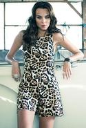 SALE-Motel Rocks Rowen Jumpsuit - Natural Leopard