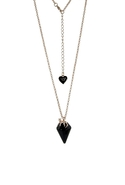 Wildfox Couture Jewelry Fox Charm Necklace with Bl