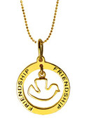 Erica Anenberg Dove   Friendship   Circle Charm Ne