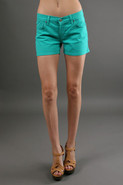 Shorty Slouchy Fit Boy Shorts in Peppermint