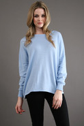 Oversized Pullover in Chambray