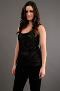 Crochet Tunic in Black