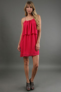 Palm Beach Dress in Fuschia