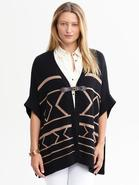 Heritage Intarsia Sweater Cape