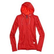 Women Player Hooded Full-Zip 275756-tart