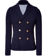 Navy Double Breast Gold Button Blazer