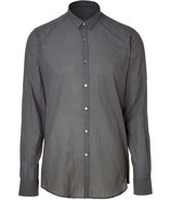 Olive and Black Plaid Slim Fit Shirt