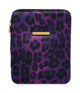 Purple Leopard iPad Case