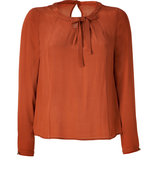 Rust Top with Bow