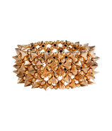 Gold-Plated Large Stessy Abby Cuff