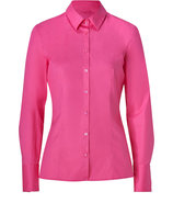 Bright Pink Stretch Cotton Etrixe1 Blouse
