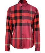 Boysenberry Check Cotton Rhys Shirt
