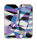 Lavender/Black iPad Case