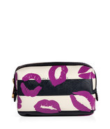 General Navy Multi Stripey Lips PVC Cosmetic Case