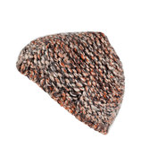 Rust/Clay Heather Knit Beanie