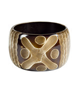 Bone Thick Retro Bangle