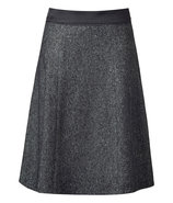 Anthracite A-Line Skirt