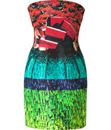 Multicolor Hunky Dory Silk Dress