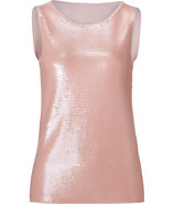 Blush Rose Sequined Front Jackies Top