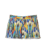 Multicolored Arrow Printed Boyfriend Short