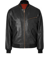 Deep Black Lambskin Jacket
