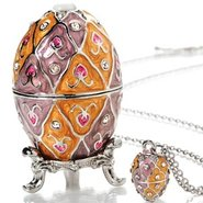 Anastasia Jewelry Egg &amp; FREE Necklace