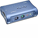 2-Port PS/2 KVM Switch with Audio Kit, (2) KVM Cab