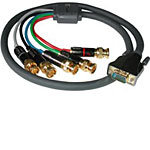 C2G SonicWave Video Breakout Cable, 5x