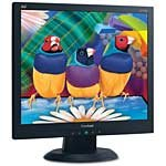 Open Box ViewSonic 17  VA705B LCD Monitor, Black