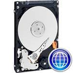160GB WD Scorpio Blue SATA 3Gb/s 2.5  Internal Har