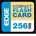 Edge 256MB CompactFlash Card PE179472