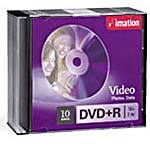 Imation 16x 4.7GB DVD+R Media (10-Pack,
