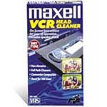 Maxell VHS VCR Head Cleaner 290058