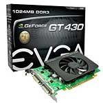 GeForce GT 430 PCIe 2.0 x16 Graphics Card, 1GB DDR