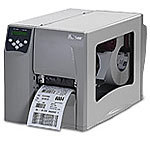 Zebra S4M Thermal Transfer Label Printer w/ Peeler