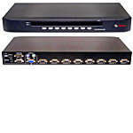 Switchview 8-port KVM Switch (1) Local User, OSD U